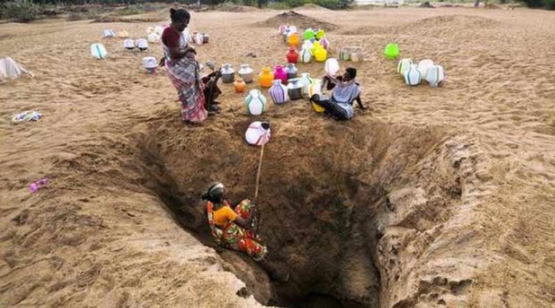Hit with water crisis