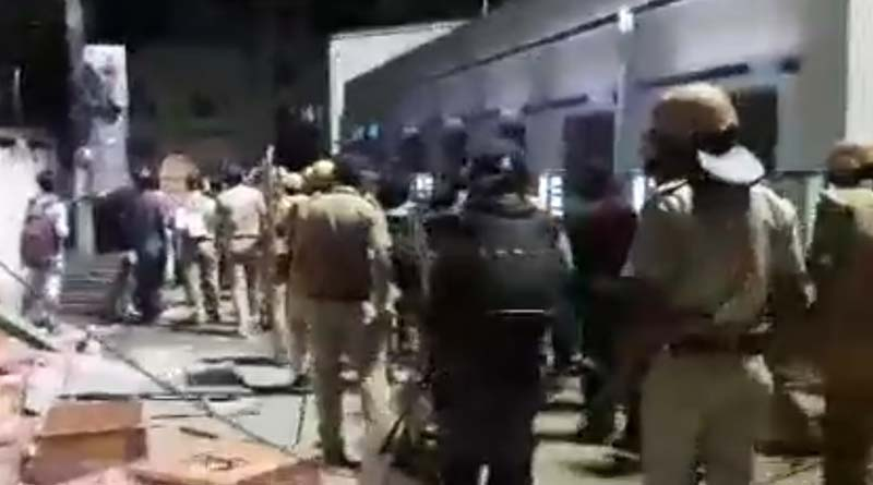 Barasat boils as alleged BJP supporters clash with police
