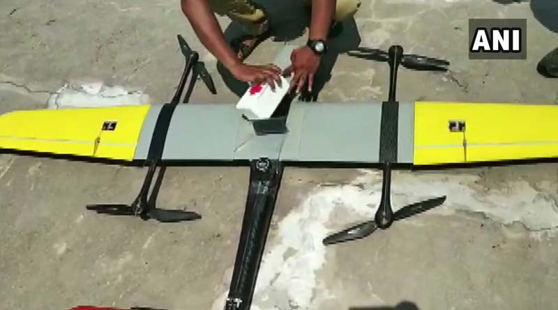 Drone delivers blood samples from remote Uttarakhand village