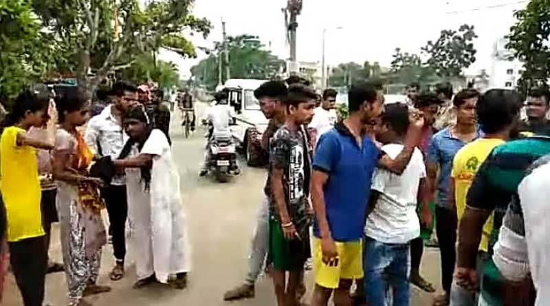 Armed people attacked at Blood Donation camp in Howrah