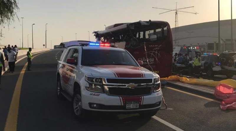 Eight indians among 17 killed in a fatal accident in Dubai