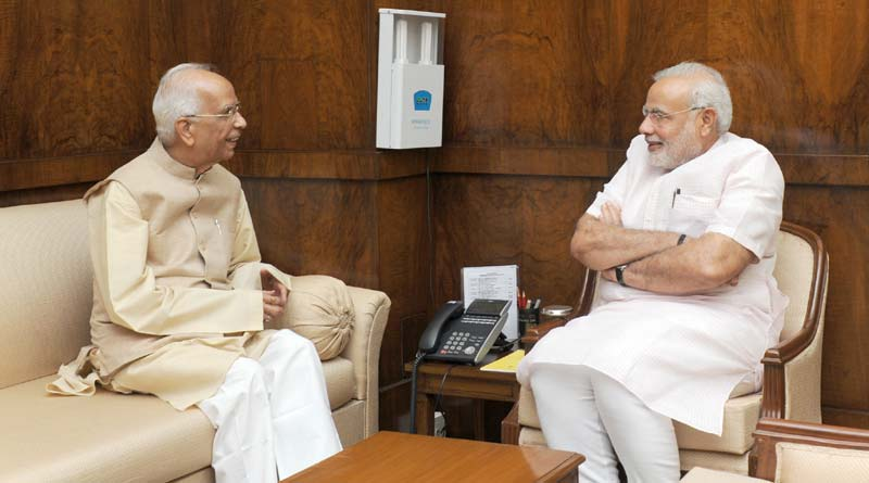 West bengal Governor flied to New Delhi to meet PM Modi
