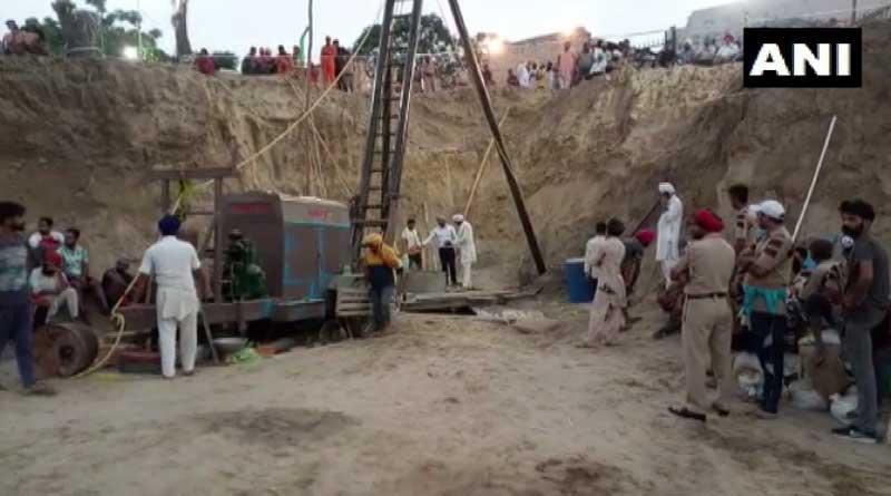 Punjab: 2-year-old stuck in 150-foot-deep borewell in Sangrur.