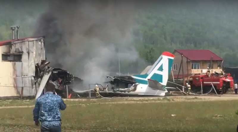 Siberia Plane Crashes
