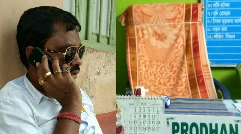 TMC leader leaves home after Loksabha Polls debacle in Burdwan