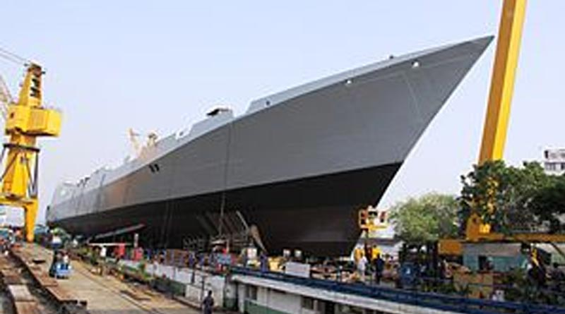 1 worker dead in fire at Navy warship at Mazgaon Dockyard