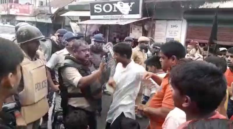 Subrata Bakshi faces unprecendented protest in Cooch Behar
