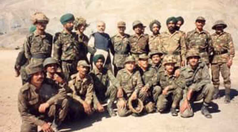 PM Narendra Modi shares throwback pics during Kargil war