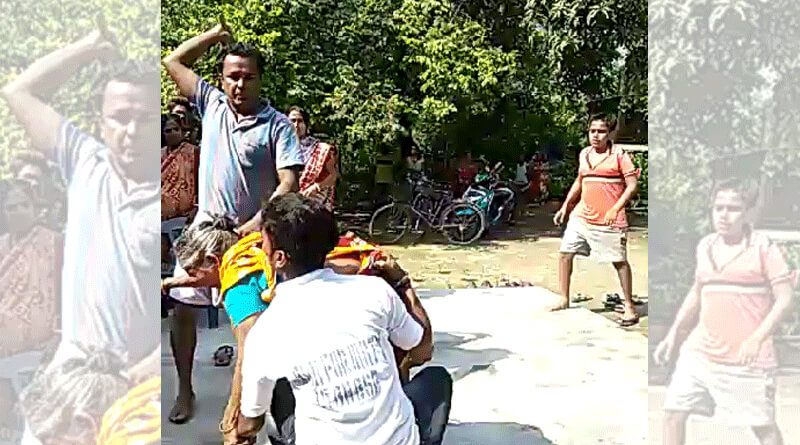 Youth beaten brutally on the suspicion og being thief in Nadia