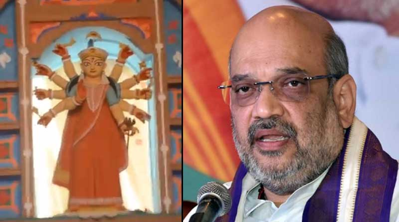 Amit Shah Will not inaugurate Puja, Confirms kalighat Sanghasree