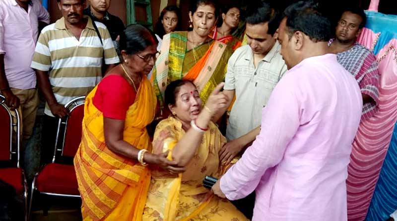 Newly wed couple allegedly thrashed by BJP goons in Tarakeswar.