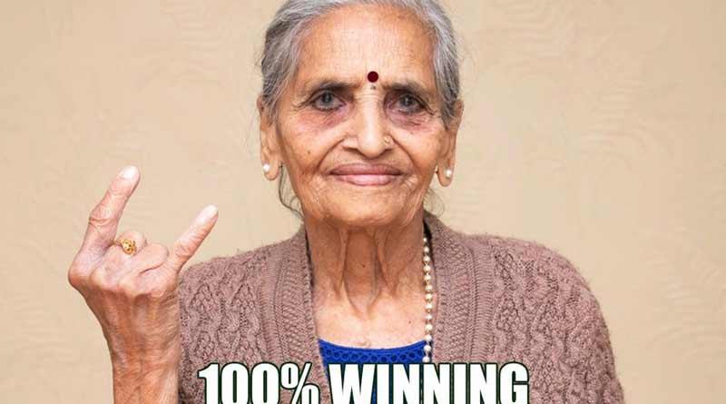 Pepsi collaborates with elderly Team India fan Charulata Patel