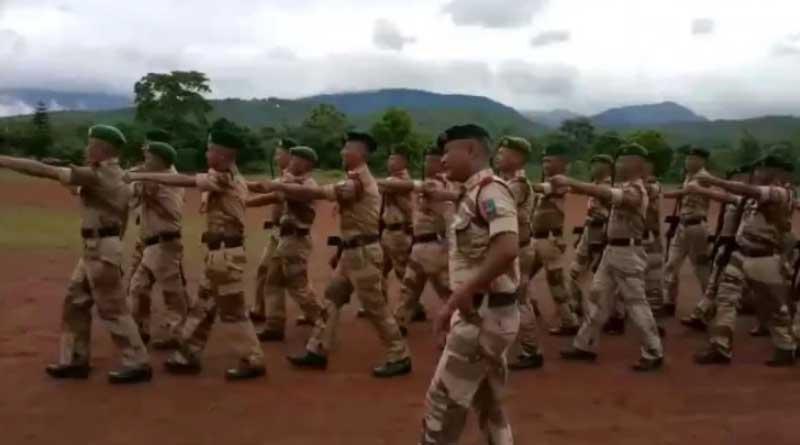 Nagaland IRBn jawans march to Dhal Gaya Din in heartwarming viral video