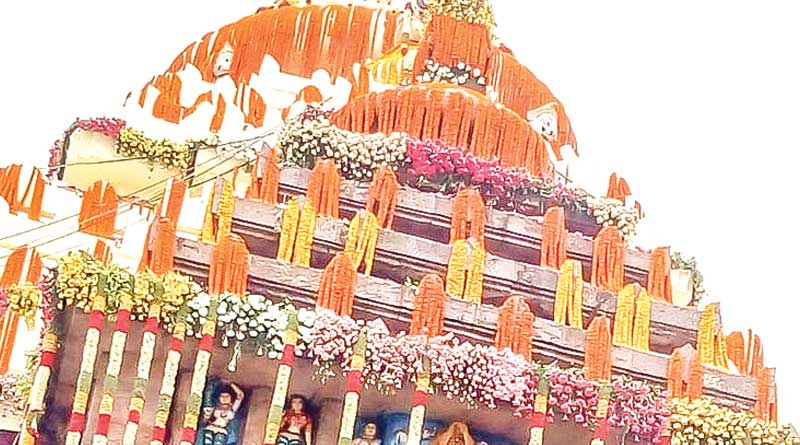 Jagannath Temple in Puri decorated with flowers worth Rs 20 lakhs