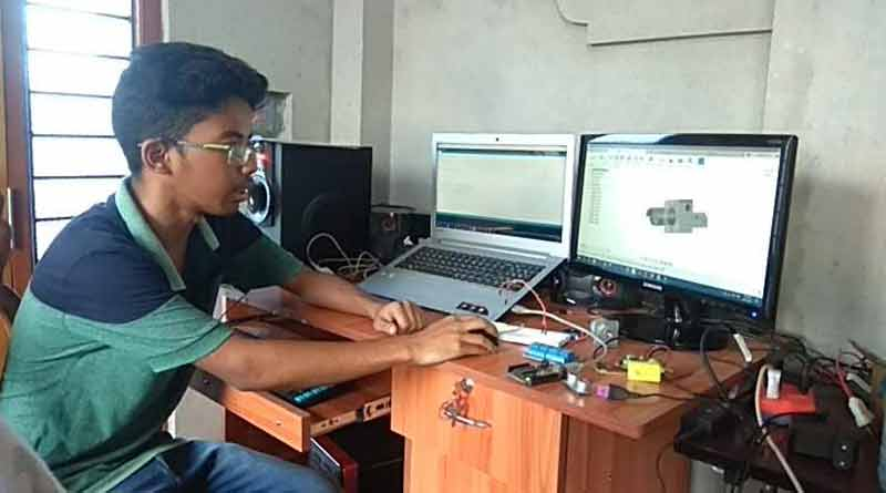 Student of Alipurduar invented a machine to stop elephant from accident