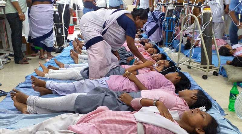 Students get sick after rally for Dengue awareness
