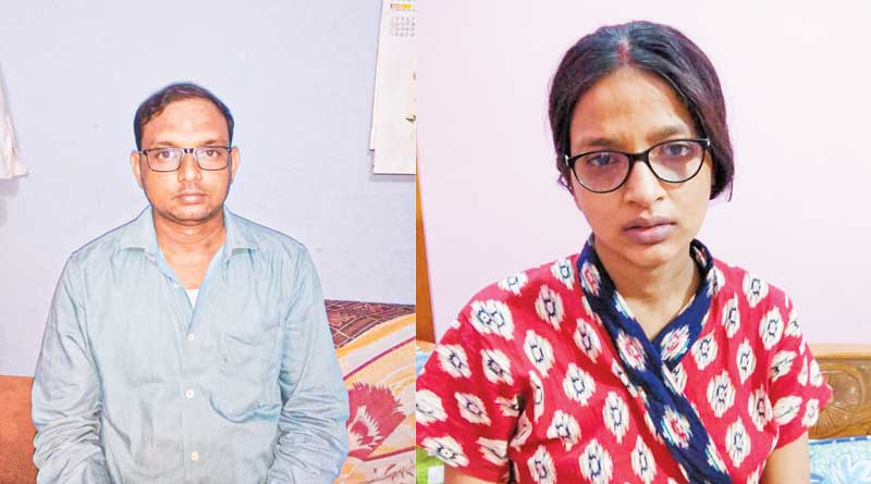 Parents donate cornia of their a new born baby in Durgapur