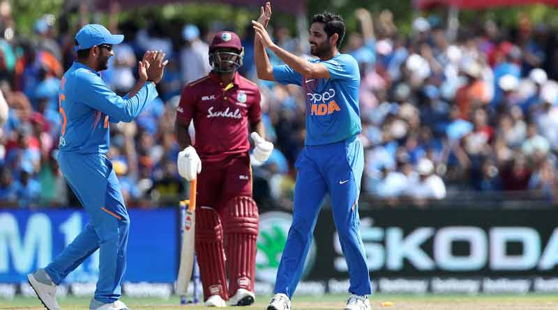 Team India beats West Indies in the 1st T-20 match