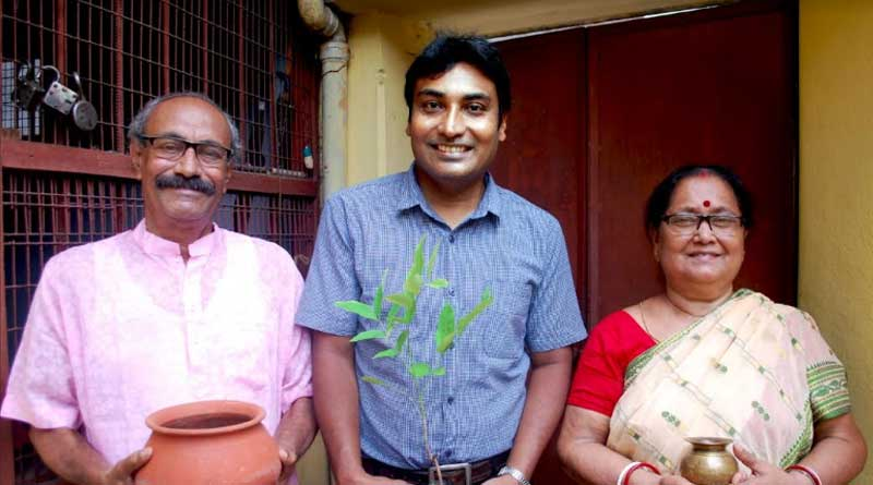 Khudiram Bose's grandson want to plant tree in his crematorium