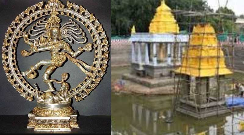 Nataraja idol, Kallidaikurichi temple