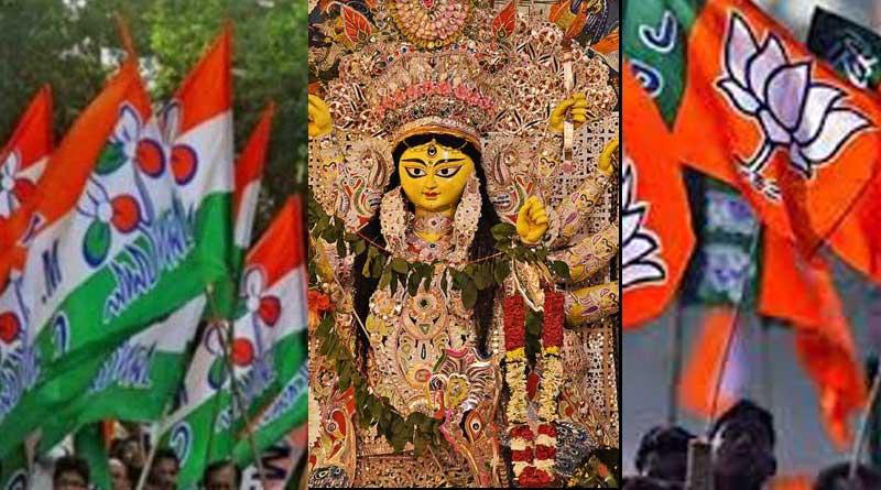 TMC-BJP fight to wrest control of Durga Pujas intensifies