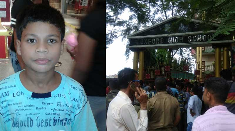 Guardians stage protest in a school at Howrah's Andul