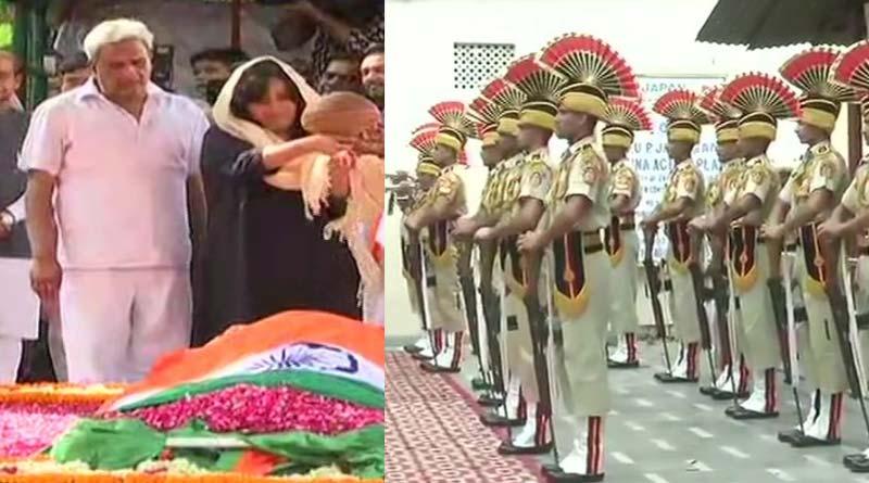 Last rites of EX External Affairs Minister Sushma Swaraj Live update