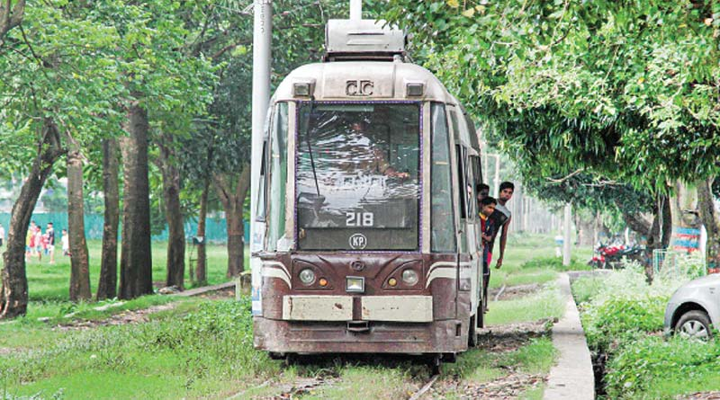 Kolkata is going to lost her Haritage vehicle, Tram in recent years