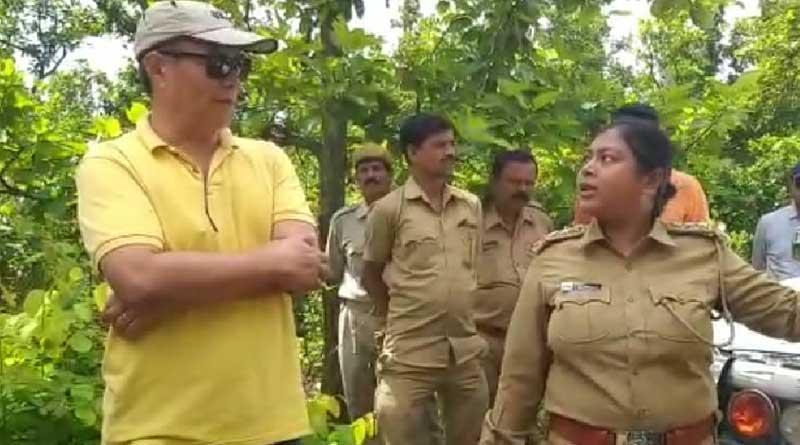 IG of National Tiger Conservation visited Lalgarh Jungle for investigation