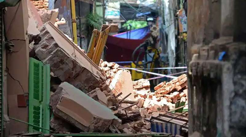 Bowbazar building collapsed