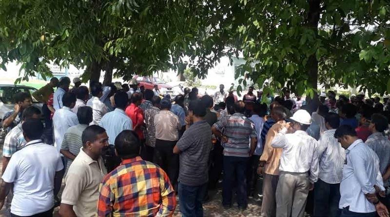 CITU demands for puja bonus on behalf of SAIL labours