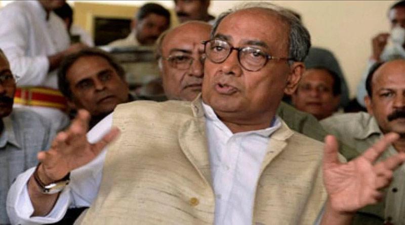 Bajrang Dal, BJP are taking money from ISI, said Digvijaya Singh