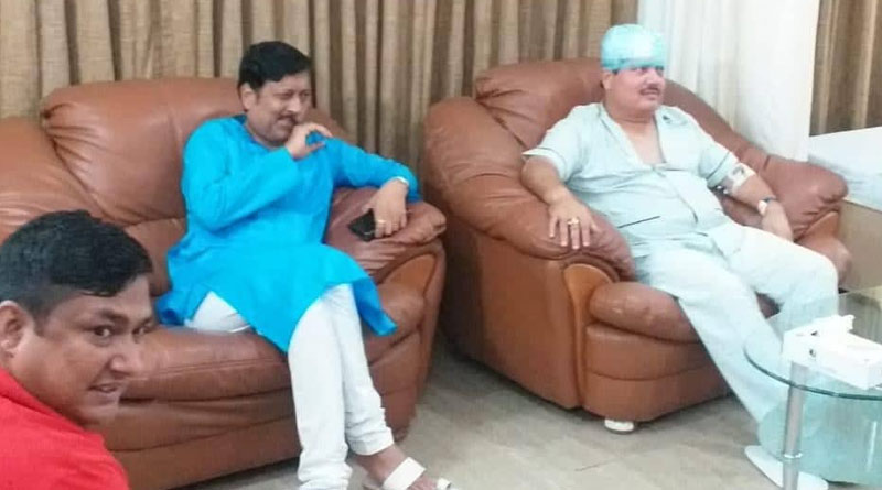Sabyasachi Dutta rushed at hospital where MP Arjun Sing is admitted