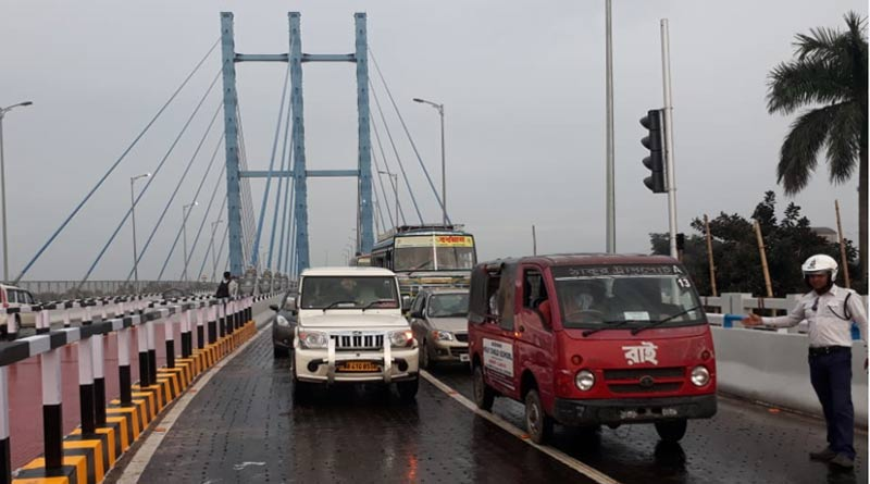 Burdwan rail bridge is open for transport after long controversy
