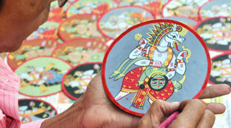 Pandal in Howrah Shasthitala will be decorated by Bishnupuri handicrafts