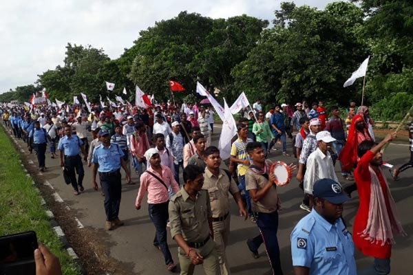 long march from singur