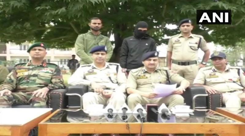 JeM terrorist arrested by police in Baramulla in J&K