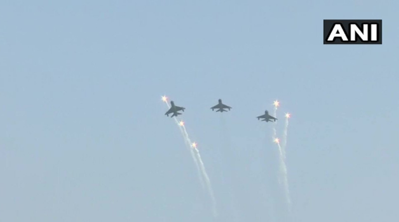 Abhinandan Varthaman In MiG-21 Bison Flypast on Air Force Day