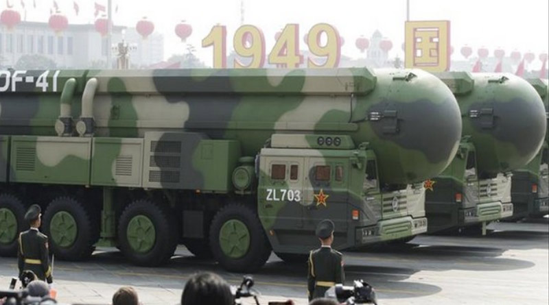 China debuts DF-41 missile, capable of 'targeting US in 30 minutes'