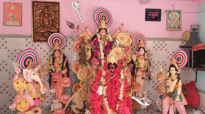 Durga immersion will be done with Kali at this puja in Durgapur