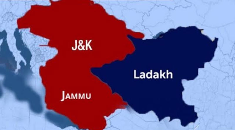 Jammu-Kashmir becomes two union teritorries from today