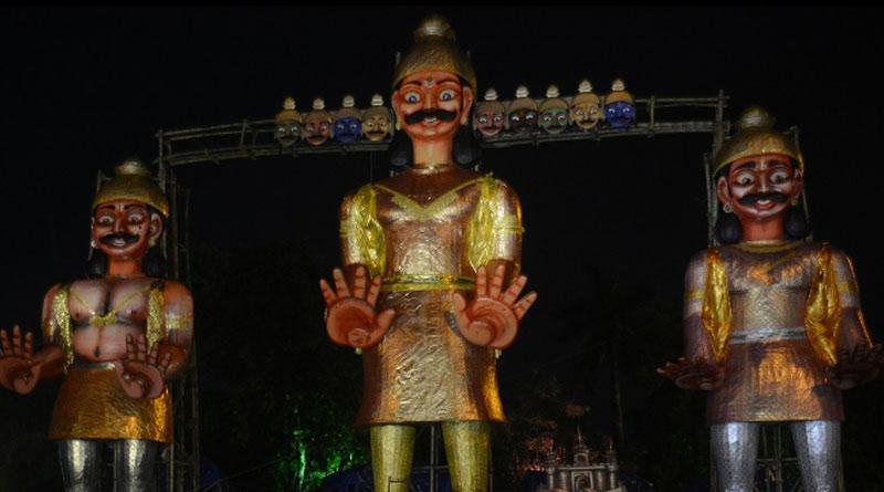 60-feet-tall Ravana effigy to be burnt on Dussehra in Salt lake