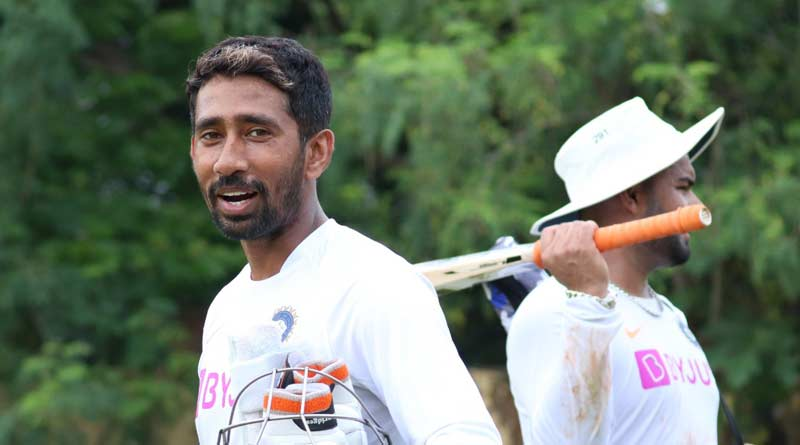 Wriddhiman Saha tests negative for Covid-19, to join Team India | Sangbad Pratidin