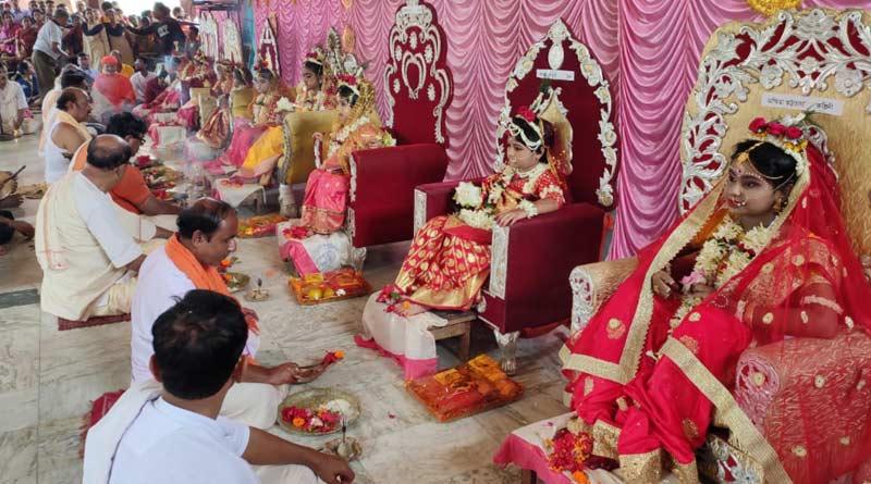 Kumari Puja at Nabami: 9 girls worshipped during this time at Burdwan
