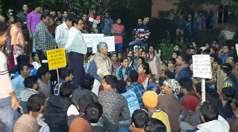 VC of Burdwan University gheraoed by students on Tuesday