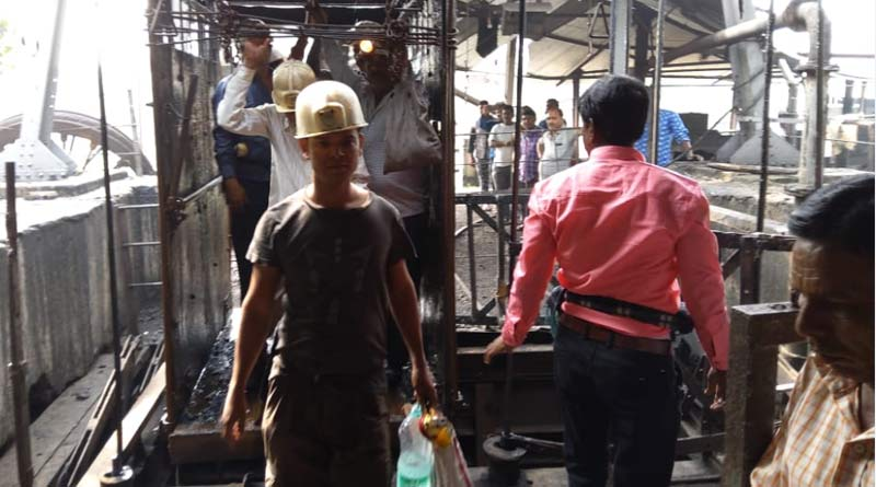Atleast 70 labours trapped into the colliary in Durgapur for 4 hours