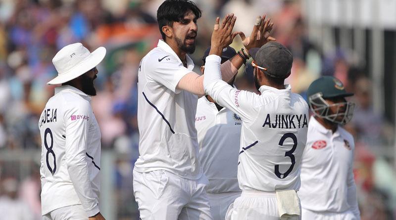 Pink Ball Test: India beats Bangladesh by innings and 46 runs