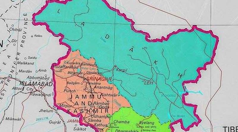 New Indian map shows UTs of J&K, Ladakh