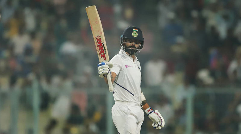 Pink Ball Test: Virat Kohli hits a ton to create a new record