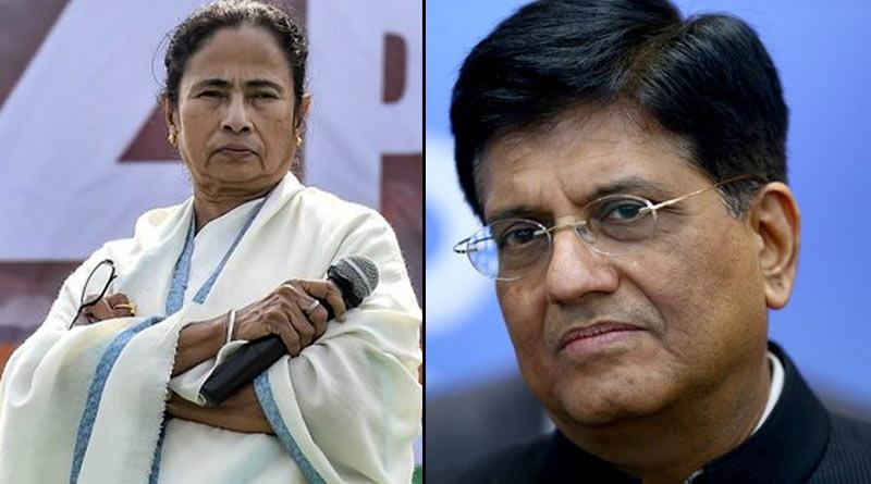 West Bengal CM Mamata Banerjee write a letter to Piyush Goyal